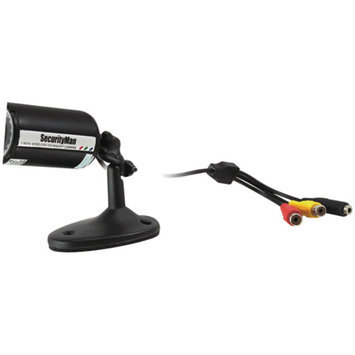 Security Man SECURITYMAN SM-302 Wired Indoor Outdoor Color Bullet Camera Kit.