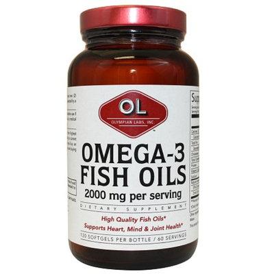 Olympian Labs Omega-3 Fish Oils 2000mg