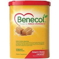 Benecol Smart Chews, Caramel, 120-Count Soft Chews