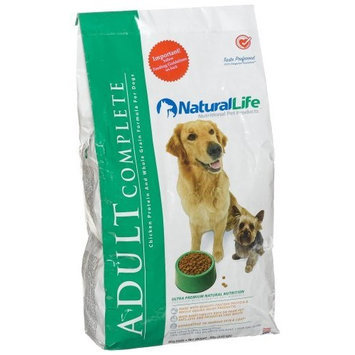 Natural Life Pet Products Natural Life Adult Dog Food Dry, 8-Pounds (3.63 Kgs)