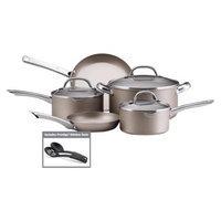 Farberware Premium CE Non-Stick 10 Pc Cookware Set - Silver