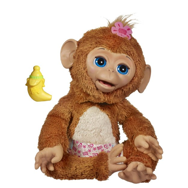 Furreal FurReal Friends Cuddles My Giggly Monkey Pet