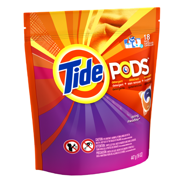 Tide PODS Laundry Detergent Spring Meadow Scent 18 Count