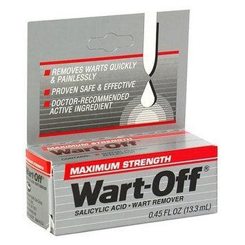 Wart-Off Maximum Strength Wart Treatment, .45-Ounce Bottles (Pack of 3)