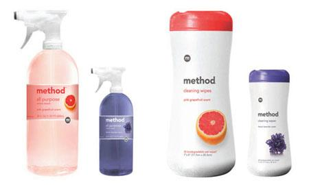 Method cleaning supplies