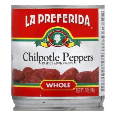 La Preferida Whole Chipotle Peppers - 24 Cans (7 oz ea)