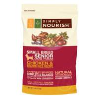 Simply NourishTM Small Breed Senior Dog Food