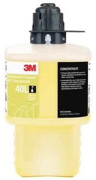 3M 40L Cleaner and Disinfectant,1:256,2L,Bottle