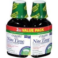 Equate - Nite Time, Multi-Symptom Cold/Flu Relief, Original Flavor, 20 oz (Compare to NyQuil)