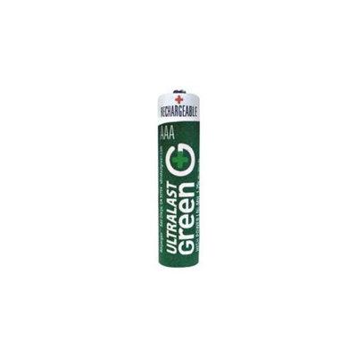 Ultralast ULGHP2AAA AAA 2 Pack Green High-Power Rechargeable Batteries