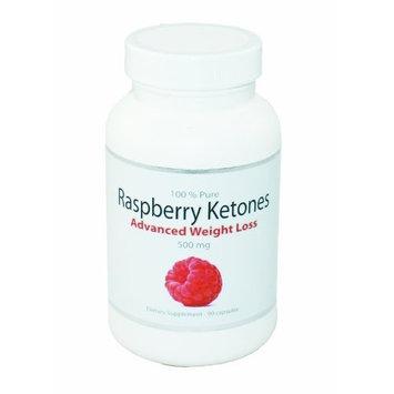 BodySuperior 100% Pure Raspberry Ketones Advanced Weight Loss Supplement 500mg | 90 Capsules
