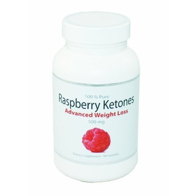 BodySuperior 100% Pure Raspberry Ketones Advanced Weight Loss Supplement 500mg | 90 Capsules
