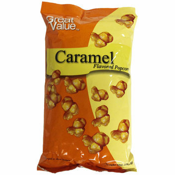 Great Value Caramel Flavored Popcorn
