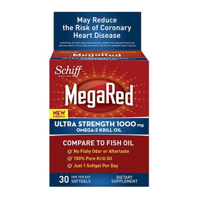 Schiff MegaRed Ultra Strength Omega-3 Krill Oil Softgels
