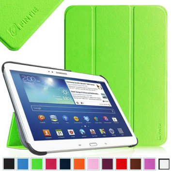 Fintie Ultra Slim Lightweight Stand Smart Shell Case Cover for Samsung Galaxy Tab 3 10.1 Inch Tablet, Green