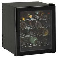 Avanti Black 16 Bottle Thermo Wine Cooler