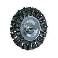 Weiler Dualife Standard Twist Knot Wire Wheels - stm-3 .0143in dia ste