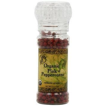 Himala Salt HimalaSalt Organic Pink Peppercorn,Net Wt 1.1-Oz Grinders (Pack of 3)