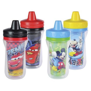 The First Years 4pk Disney Cars/Mickey Mouse Sippy Cup