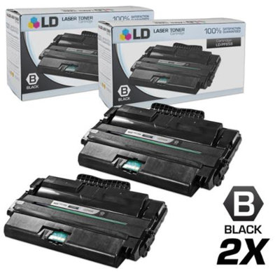 LD Compatible Replacements for Dell PF658 (310-7945) Set of 2 High Yield Black Laser Toner Cartridges for use in Dell Multi-Function 1815dn Printer
