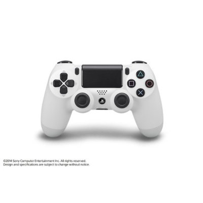 Sony DualShock 4 Wireless Controller - Glacier White (PlayStation 4)