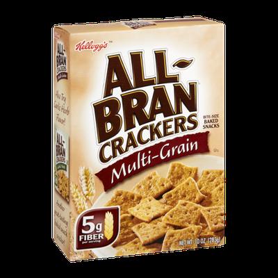 Kellogg's All-Bran Multi-Grain Bite-Size Baked Snacks Crackers