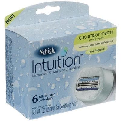 Schick Intuition Cucumber Melon Refills