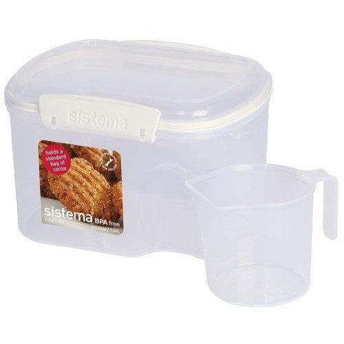 Sistema Klip It Bakery Container, 53-Ounce [53 Ounce]