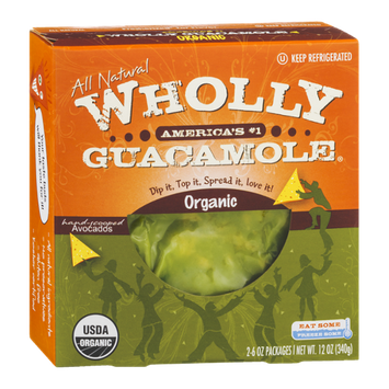 Wholly Guacamole Organic - 2 CT