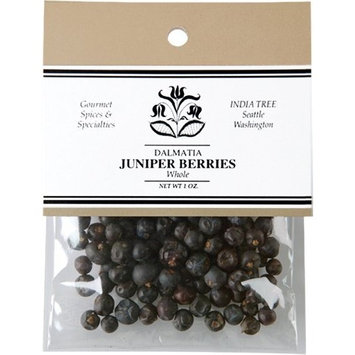 India Tree Juniper Berries, 1 oz (Pack of 4)