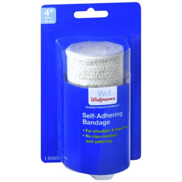 Walgreens Self-Adhering Bandage, 4 inch, 1 ea