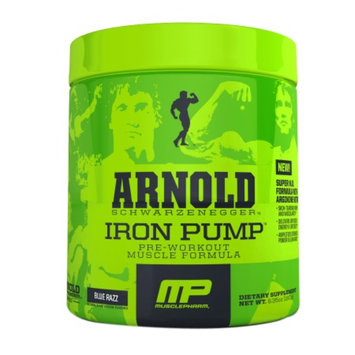 MusclePharm Arnold Schwarzenegger Series Pump Blue Razz
