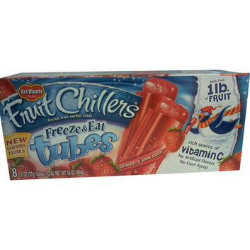 Del Monte® Fruit Chillers Strawberry Snow Storm Freeze & Eat Tubes