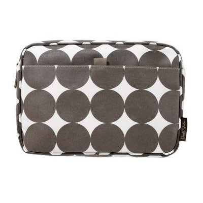 Dwell Studio DwellStudio Baby Dots Travel Case, Large, Chocolate (Discontinued by Manufacturer)