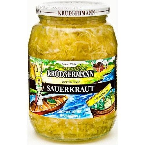 Kruegermann Sauerkraut 32 fl oz
