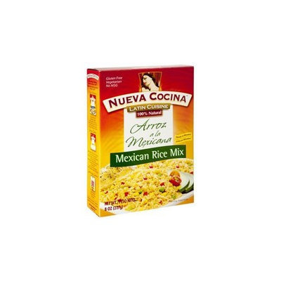 Nueva Cocina Mexican Rice Mix, 8-Ounce Units (Pack of 6)