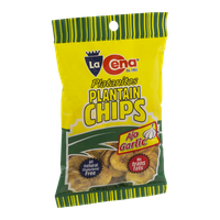La Cena Plantain Chips Garlic