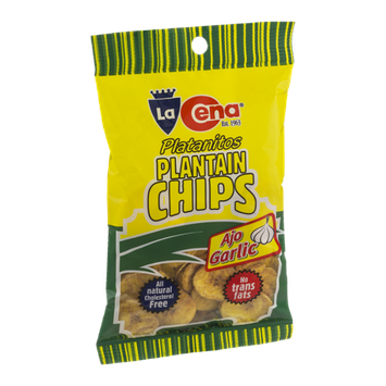La Cena Plantain Chips Garlic