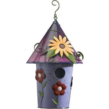 Regal Art & Gift Floral Bird House Design: Daisy