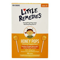 Little Colds Non-Medicated Honey Pops