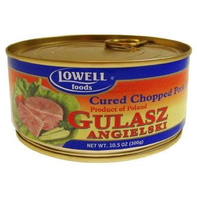 Lowell Foods Gulasz Angielski Cured Chopped Pork Loaf, 10.5900-Ounce (Pack of 6)