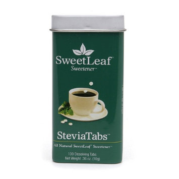 SweetLeaf SteviaTabs All Natural Stevia Sweetener
