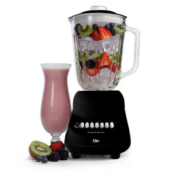 Elite by Maxi-Matic Gourmet 10-Speed Blender with 48 oz. Glass Jar