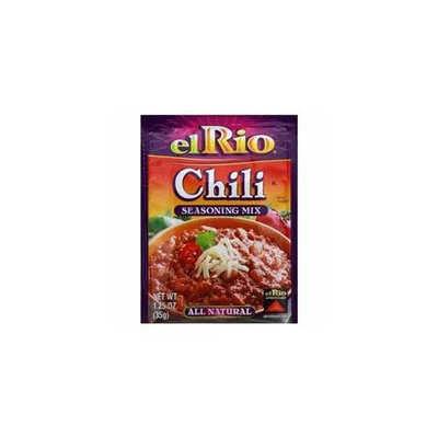EL RIO 24103 EL RIO SSNNG MIX CHILI - Case of 20 - 1. 25 OZ