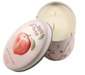 100% Pure Peach Candle