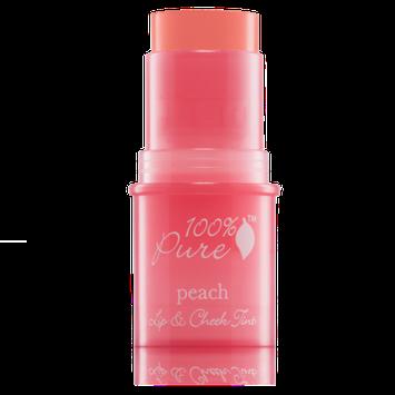 100 Pure Lip & Cheek Tint - Peach Glow