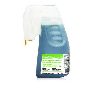 Suma 2.5 Liter Pot and Pan Detergent Bottle for Optifill Dispensing System