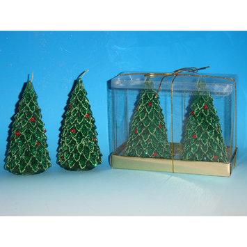 Horizons East Medium Tree Candles (Box of 2) (Set of 2)