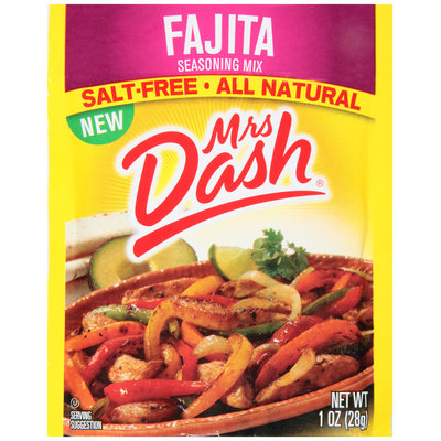 Mrs. Dash® Fajita Seasoning Mix 1 oz. Packet