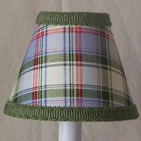 Silly Bear Mad for Plaid Table Lamp Shade